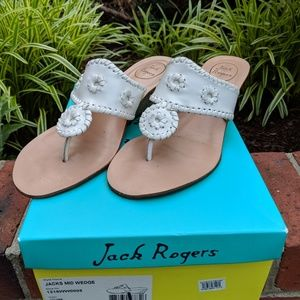 Jack Rogers wedges, size 10